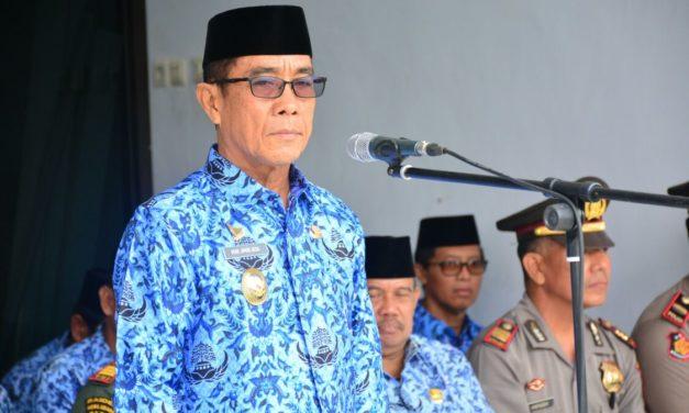 Wakil Bupati Mateng Pinpin Upacara Korpri