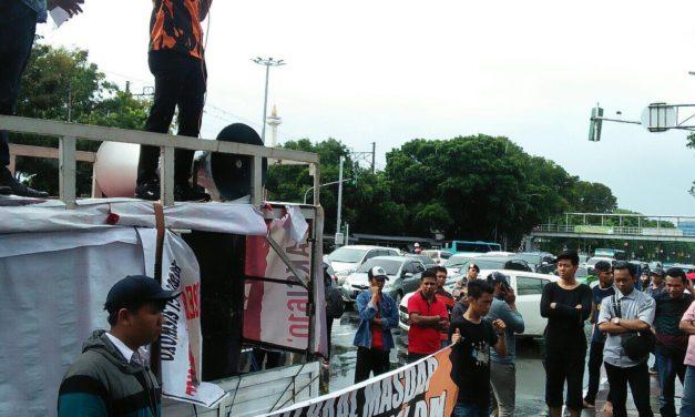 Aksi Turunkan Gubernur Sulbar Bergejolak di Mabes Polri dan Kemendagri.