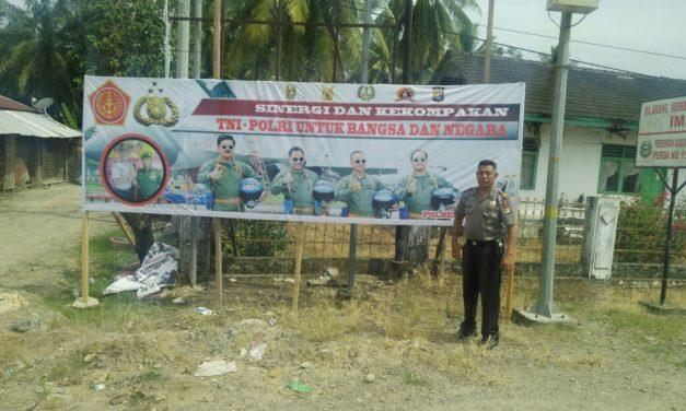 Polsek Bersama Danramil Budong-budong Tingkatkan Cipta Kondusif