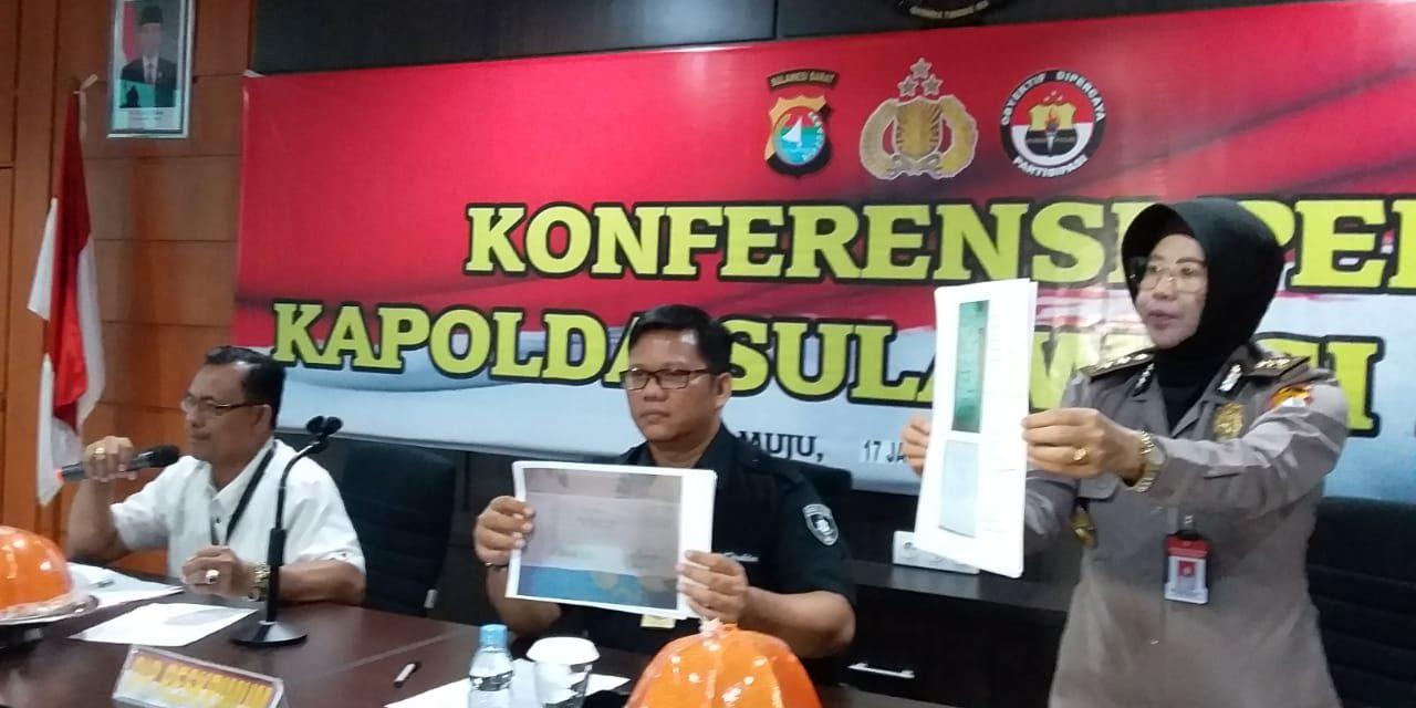 Polda Sulbar Berhasil Ungkap Pelaku Penipuan CPNS