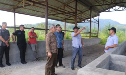 Gubernur Sulbar Tinjau Pembangunan Bandara Polman