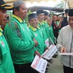 Gubernur Sulbar Serahkan Bantuan Bus Operasional Untuk UPTD PPLP Dispora Sulbar