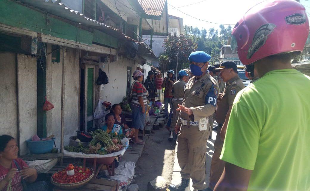 Eksekusi penertiban pedagang di kota Mamasa berakhir dengan ricuh