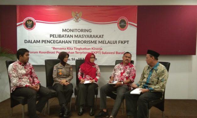 bersama kita tingkatkan kinerja dalam Forum Komunikasi Pencegahan Terorisme (FKPT) Sulawesi Barat