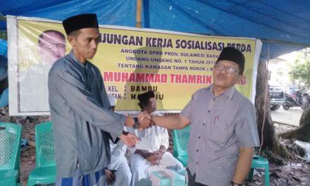 Thamrin Endeng Berikan Bantuan Langsung Kepada Mesjid Barambajabu