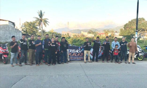Komunitas Biker Yamaha Club Indonesia (YNCI) Berbagi