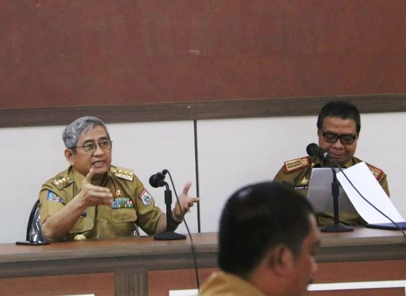Gubernur Tindak Lanjuti Catatan DPRD Sulbar OPD Diundang Rapat