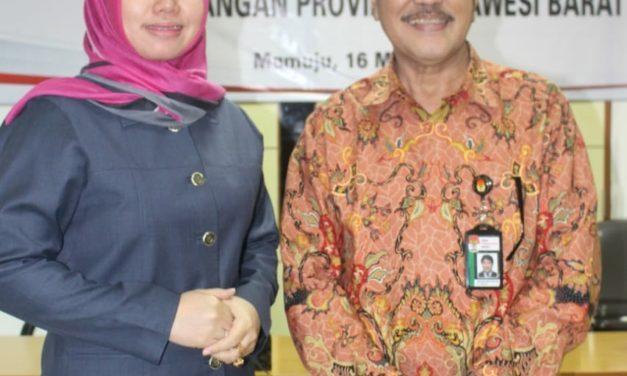 Bersama Tim KPK DPRD Sulbar Gelar Rakor