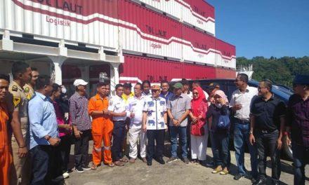 GubernurSulbar Tinjau Kesiapan Pelabuhan  Silopo Menuju Jalur Tol Laut